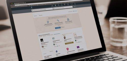 Advanced LinkedIn - Header - Events