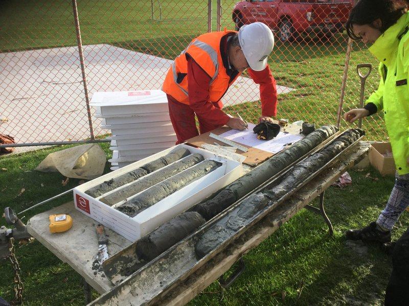 Otago drill holes