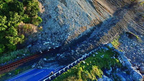 Kaikoura landslide