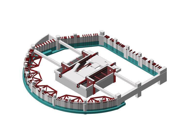 Majestic Centre Holmes Isometric View