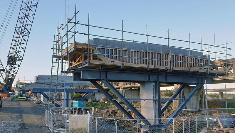 Concrete Bridge Pier
