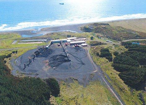 Taharoa Ironsand Mining and Ship Loading Content