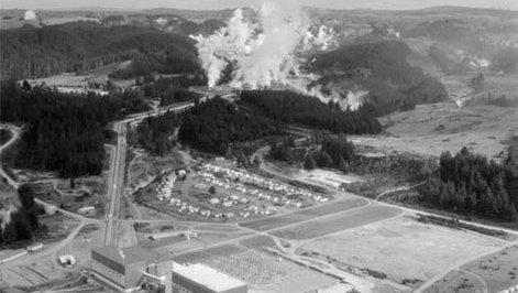 Wairakei Geothermal Power Development
