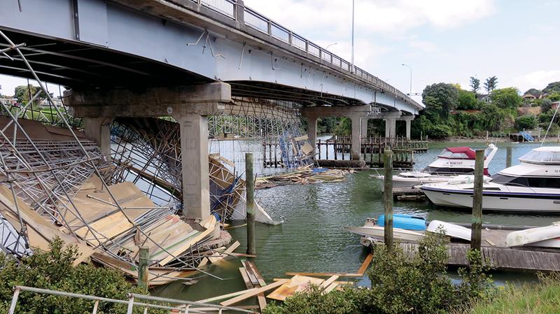 Panmure Bridge Collapse